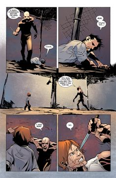 Damian and Colin vs. Julian Day, Jervis Tetch, Dustin Nguyen, Victor Zsasz, Calander, Batman Universe, Bat Family, Bats, Comic Art
