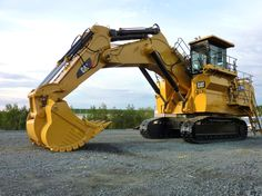 Big is an understatement for the Cat 6030 hydraulic shovel. #CatMachines