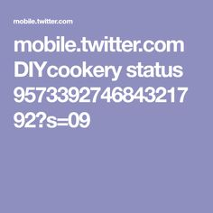 mobile.twitter.com DIYcookery status 957339274684321792?s=09