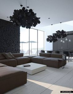 13 Mysterious Gothic Bedroom Interior Design Ideas - Healthy Life Style Tips Interior Architecture, Interior And Exterior, Zeitgenössisches Apartment, Gothic Bedroom, Contemporary Apartment, Modern Luxury, Modern Gothic, Minimalist Home, Home Design