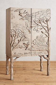 And finally, a woodland inspired bar cabinet that every fairy has on their wishlist. And finally, a woodland inspired bar cabinet that every fairy has on their wishlist. Cabinet Furniture, Bar Furniture, Unique Furniture, Wooden Furniture, Living Room Furniture, Furniture Design, Outdoor Furniture, Furniture Stores, Luxury Furniture