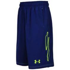 Under Armour Marauder Short - Men's - Caspian/High Vis Yellow Athletic Clothes, Athletic Outfits, Men's Activewear, The Marauders, Workout Ideas, Under Armour, Active Wear, Kicks, Basketball
