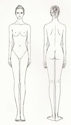 drawing tutorial woman body