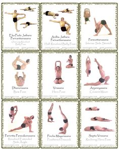 yoga poses for beginners  yoga pose cards free yoga cards