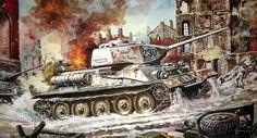1945 01 Königsberg, T-34-85 - Tamiya