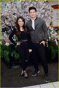 Janel Parrish and Harry Shum Jr. Celebration the Lunar New Year 2016