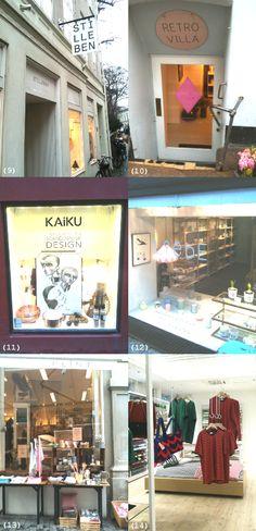 Copenhagen shopping: Stilleben, Retro Villa, Kaiku, Liebe, Plint, Marimekko