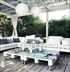 Pallet Deck Furniture: Cost Effective Ideas | Wooden Pallet Furniture