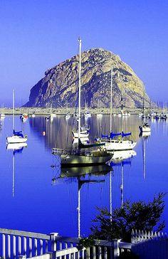 Beautiful Morro Bay, California