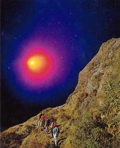 Richard Evans Art Evans Art, Northern Lights, Artworks, Past, Collage, Celestial, Sunset, Nature, Travel