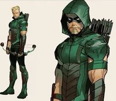 So this is the new Green Arrow from the Rebirth relaunch, looks inspired from the suit we did for the TV show! Awesome! @dccomics @geoffjohnsdc #rebirth #justiceleague @amelladventures #greenarrow #oliverqueen