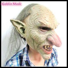 Halloween Party Cosplay Creepy Goblin Mask http://dld.bz/fcaKf