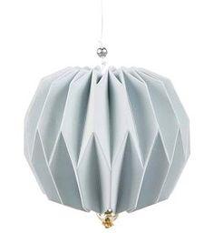 "Pendant ""Origami"" blue | CHRISTMAS | byzenz"