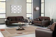 SM6061 Avdira Sofa And Love Seat Set