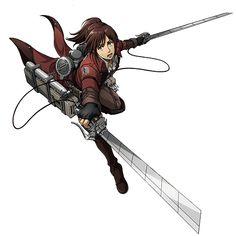 Sasha Blouse - Attack on Titan Mikasa, Armin, Attack On Titan Season, Attack On Titan Anime, Haikyuu, Accel World, Ereri, Tokyo Ghoul, Kawaii Anime