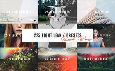 225 Light Leak / Preset Rad Bag by kervin.markle on @creativemarket