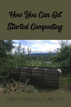 How You Can Get Started Composting