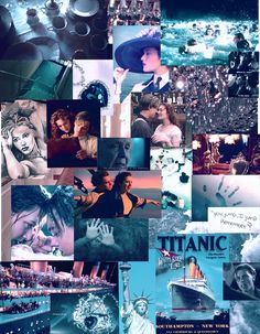 Titanic Funny, Titanic Quotes, Titanic Ship, Rms Titanic, Titanic Leonardo Dicaprio, Leonardo Dicaprio Kate Winslet, Young Leonardo Dicaprio, Titanic Movie Poster, Movie Collage