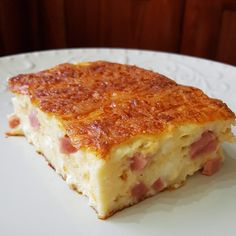 Ζαμπονοτυρόπιτα σουφλέ στο λεπτό!!! ~ ΜΑΓΕΙΡΙΚΗ ΚΑΙ ΣΥΝΤΑΓΕΣ 2 Vanilla Cake, Lasagna, Quiche, Sweets, Bread, Cooking, Breakfast, Health, Ethnic Recipes