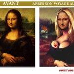 Gif animé Mona Lisa