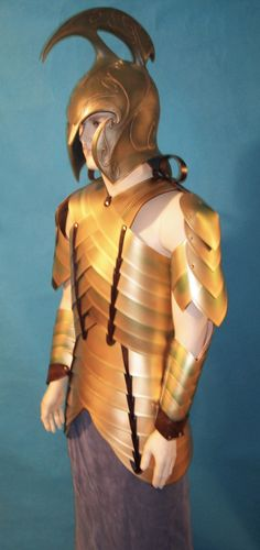 elven armour - this time cosplay plastic, fake