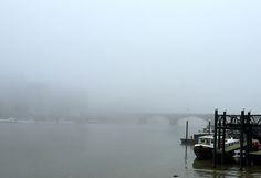 Foggy Dock by Caroline Reyes-Loughrey