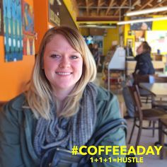 Today for My #CoffeeADay Initiative, Brittany West and I talked about how she hustles for a Solidarity Economy.  My CoffeeADay Initiative: 1 cup of coffee with 1 person everyday.  Brittany is a Co-Founder of Trade School Indianapolis.  http://coffeeaday.net/post/131505260871/today-for-my-coffeeaday-initiative-brittany-west