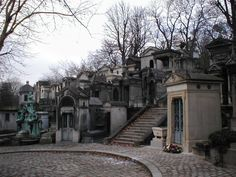This picture isn't very great, but I'm dying to see Pere Lachaise in Paris. One of the most beautiful looking cemeteries I've ever seen.