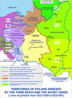 Division of Poland in 1939.