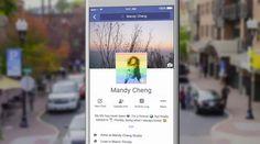 #Facebook testet ein neues Layout für mobile Geräte. Dazu gehören auch temporäre und #animierte #Profilbilder. Und so sieht das aus!