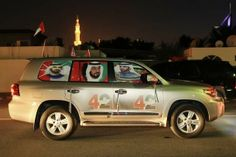 Those numbers won't be much use next year, so souvenir sellers had to be creative with the surplus. #UAE42 #UAENationalDay #Business