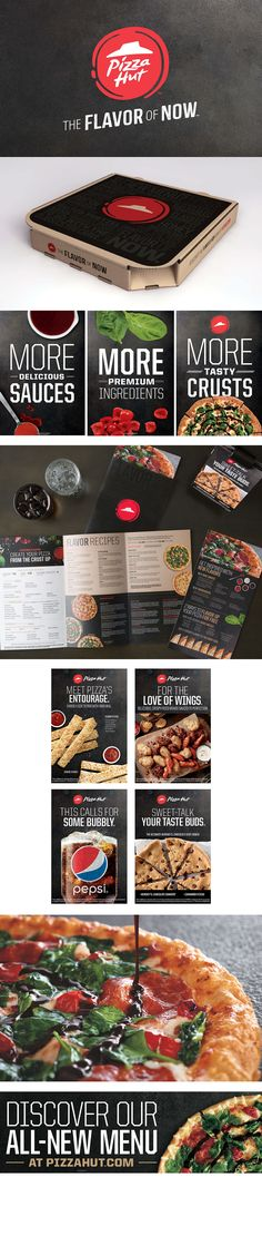 Pizza Hut Rebrand #rebrand #corporative #logo
