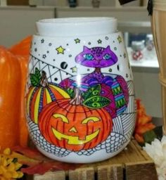 SCENTSY TRICK OR TREAT COLORING WARMER HALLOWEEN 2016