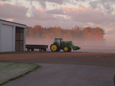 From Sunrise to Sunset: Beautiful John Deere Photos  Check out over 100 more here! http://blog.machinefinder.com/12495/sunrise-to-sunset-john-deere-photos
