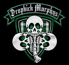 Dropkick murphys band logo t shirt size large anvil coat for Dropkick murphys mural
