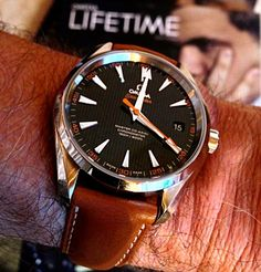 OMEGA Seamaster Aqua Terra Master Co-Axial Chronometer In Stainless Steel