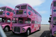 Pink Routemaster by JarvisEye, via Flickr
