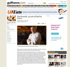 Our Corporate photography in Gulf News, Frevo, Dubai.