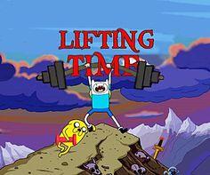 Lifting Tiiiiiiim!