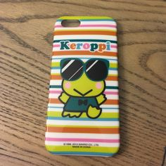 Super Cute Keroppi iPhone Case Super cute Keroppi IPhone 5/5S case. Very good condition. Hello Kitty Accessories Phone Cases