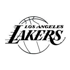 LA Lakers NBA Die Cut Vinyl Decal PV233