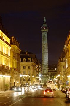 Place Vendôme, Paris. I don't remember seeing this when I was there, must go back again :)