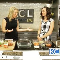NBC segment, cooking with food allergies!