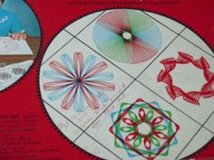 Vintage Spirograph game 1968 No. 401 Canadian door PourToujours