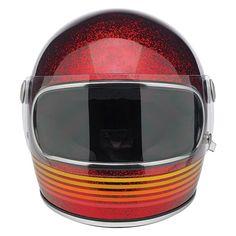 Biltwell Biltwell Helm Gringo S, LE Spectrum, Wine Red  - 89-2378V