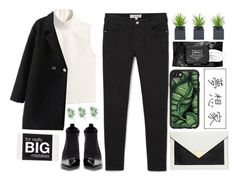 """""""#"""" by credentovideos ❤ liked on Polyvore featuring H&M, MANGO, Dorothy Perkins, Zara, Kat Von D and Casetify"""