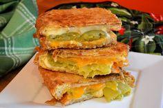Double Crunch Chile Relleno Monte Cristo Sandwiches