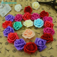 10pcs/lot Cheap 6cm Foam Artificial Rose Flowers Head For Wedding Car Decoration DIY Decorative Rose Scrapbooking Craft Flores-in Decorative Flowers & Wreaths from Home & Garden on Aliexpress.com | Alibaba Group