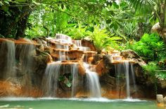 For a relaxing Valentine's Day getaway, take a trip to Arenal. Tabacon Thermal Resort and Spa is one... - Shutterstock