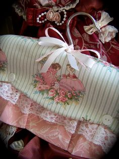 Crinoline ladies coat hanger- www.createdbycath.com  Flickr - Photo Sharing!